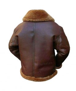 Mens Aviator Shearling Brown Leather Jacket.jpg