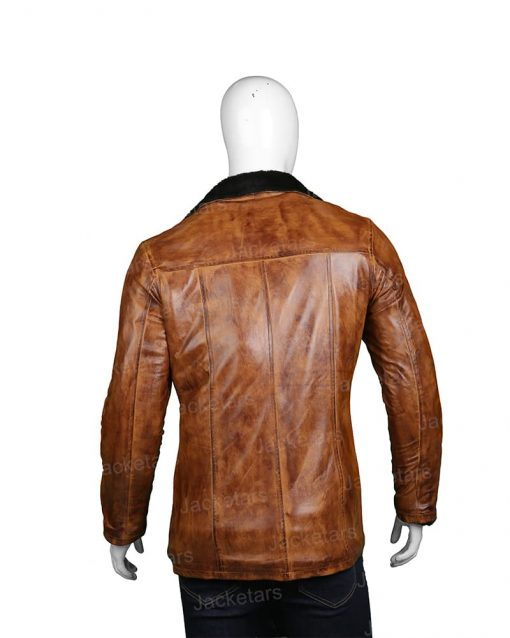 Mens Distressed Brown Fur Coat.jpg