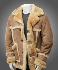 Mens Sheepskin Fur Coat