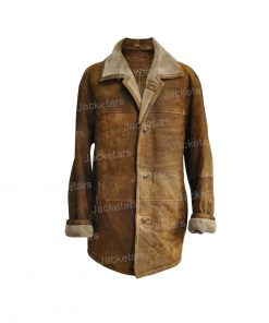 Mens Vintage Leather Coat