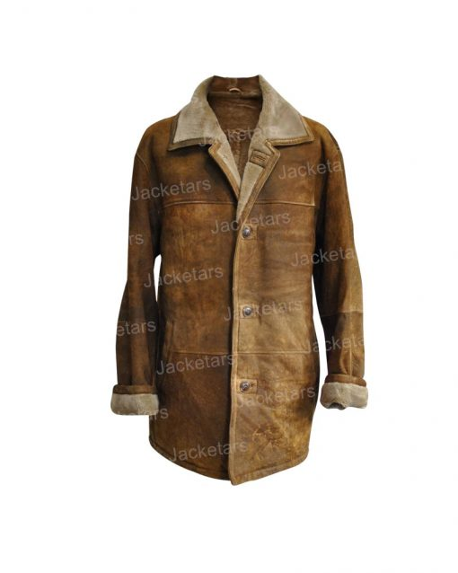 Mens Vintage Leather Coat