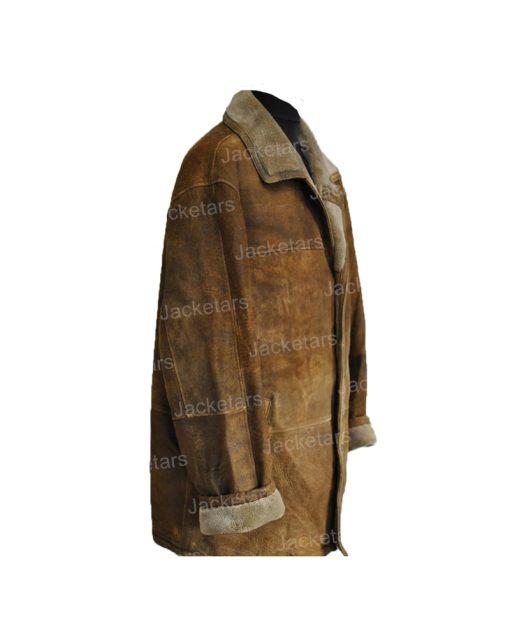 Mens Vintage Shearling Brown Leather Coat.jpg