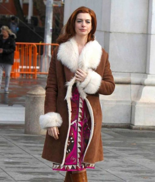Modern Love Lexi Anne Brown Trench Coat