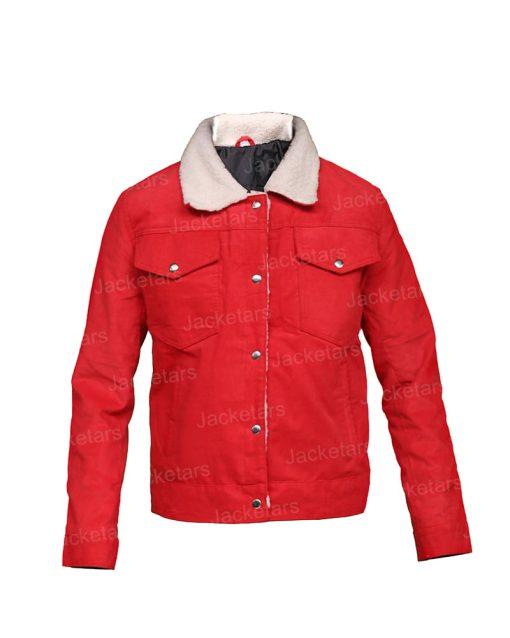 Nancy Wheeler Stranger Things Fur Jacket