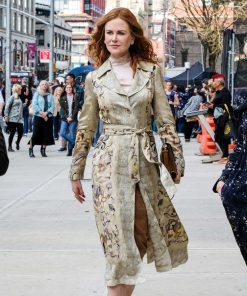 Nicole Kidman The Undoing Floral Coat