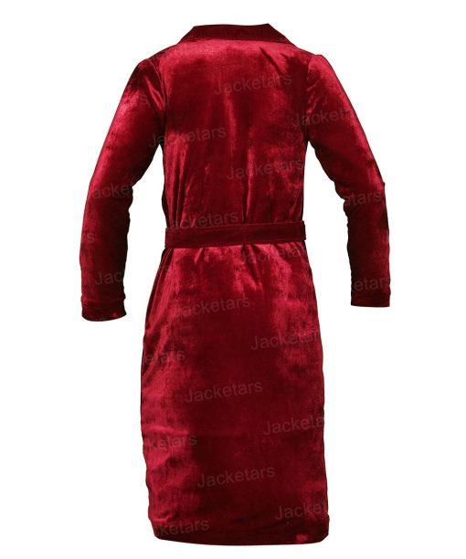 Nicole Kidman Velvet Coat