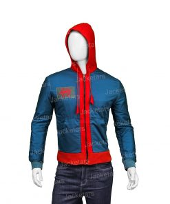 Spiderman Into The Spider Verse Miles Morales Hooded Jacket