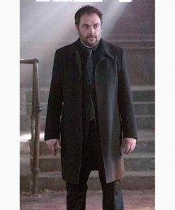 Supernatural Crowley Brown Wool Coat