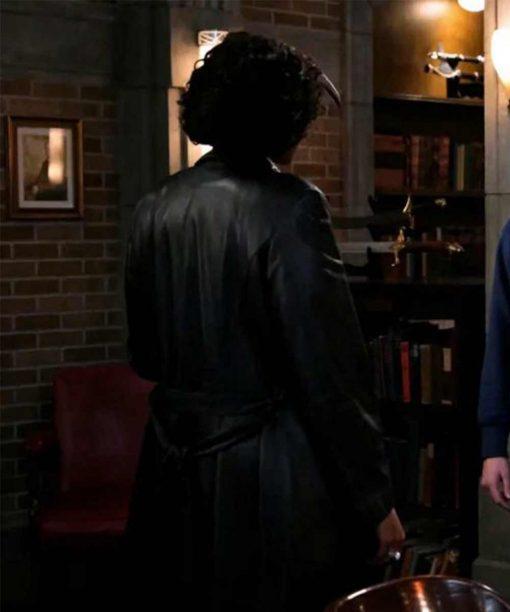 Supernatural S15 Billie Black Trench Coat