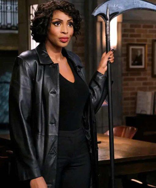 Supernatural S15 Billie Trench Coat