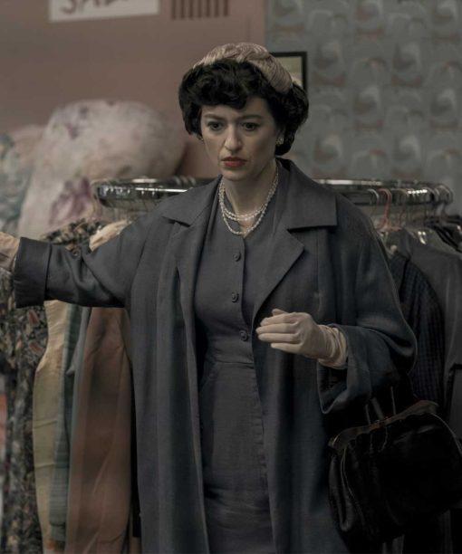 The Queens Gambit Alma Wheatley Long Coat