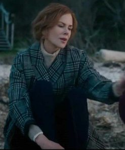 The Undoing Nicole Kidman Checked Coat
