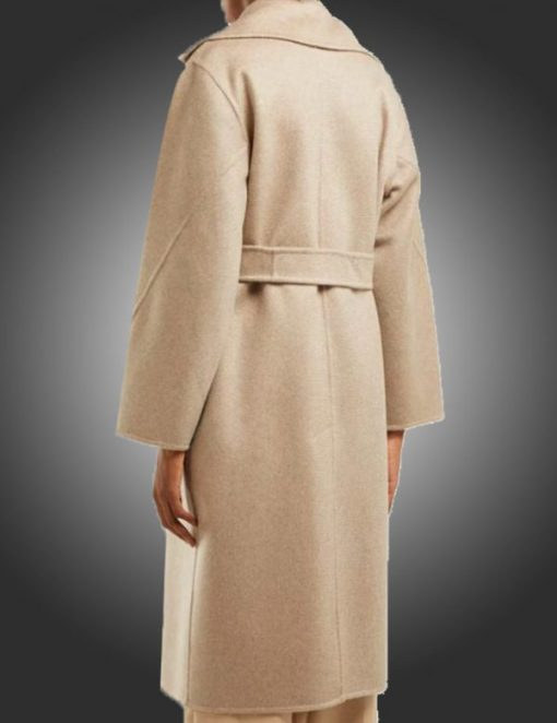 The Undoing Sylvia Steineitz White Wool Coat