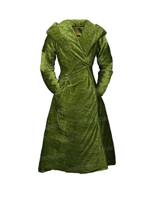Grace Fraser The Undoing Green Coat