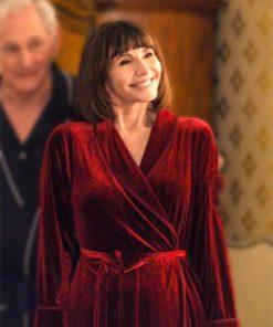 Happiest Season Tipper Red Coat
