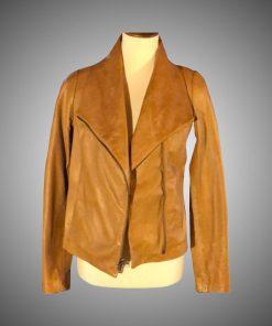 Melinda Monroe Virgin River Brown Jacket
