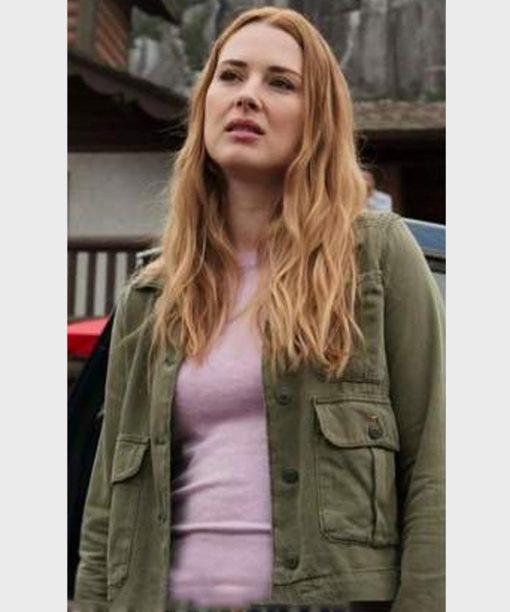 Melinda Monroe Virgin River S02 Green Jacket