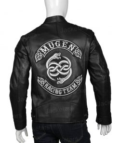 Mugen High And Low Racing Team Black Leather Jacket.jpg