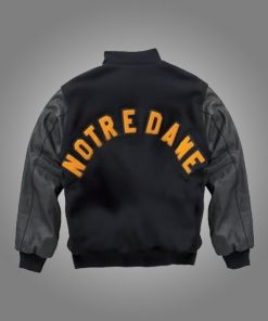 Notre Dame Rudy Irish Black Jacket
