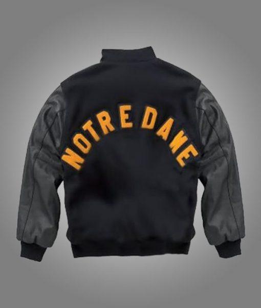Notre Dame Rudy Irish Black Jacket