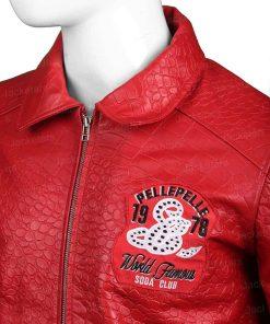 Pelle Pelle Leather Red Jacket