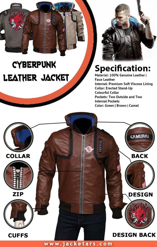 Cyberpunk 2077 Samurai Jacket