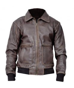 Joe Biden Brown Aviator Jacket