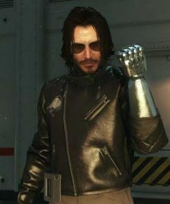 Johnny Silverhand Cyberpunk 2077 Leather Jacket