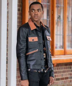 Tariq St Patrick Power Book II Ghost Leather Jacket