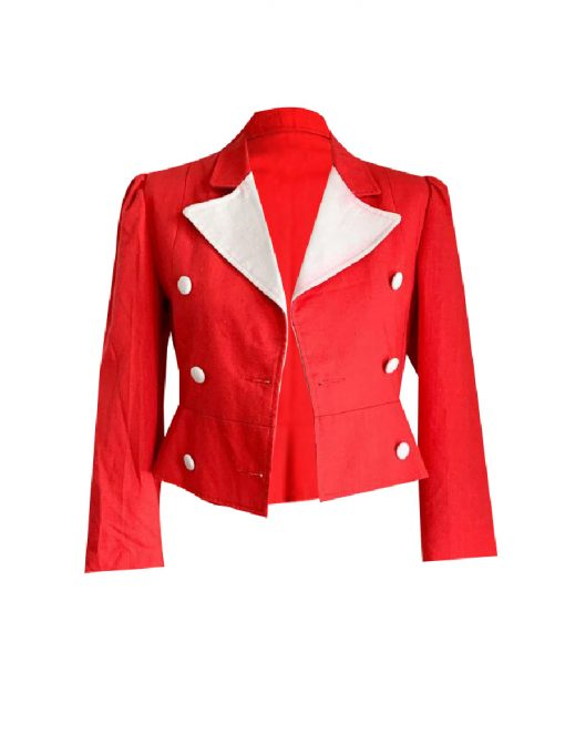 Womens Slimfit Vintage Blazer