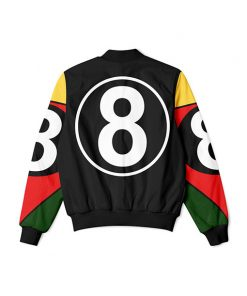 8 Ball 90s Black Jacket