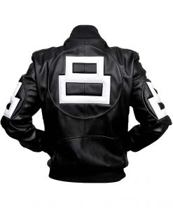 8 Ball Black Bomber Jacket