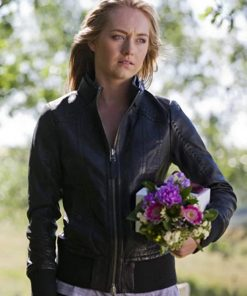 Amy Fleming Heartland Black Jacket