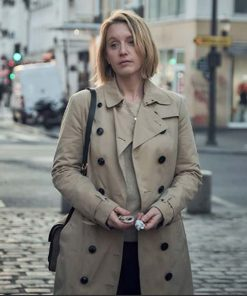 Claire Lupin Brown Coat