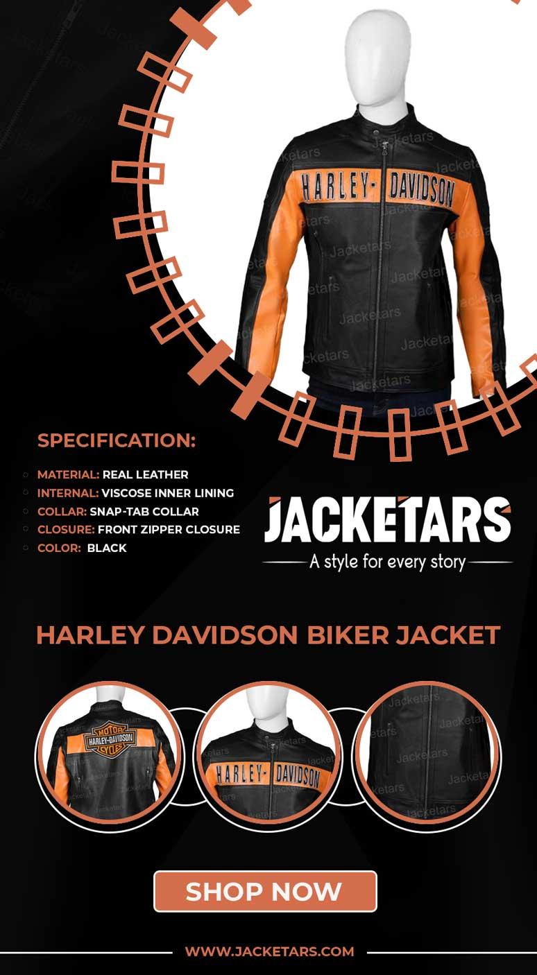 Harley Davidson Biker Jacket Info