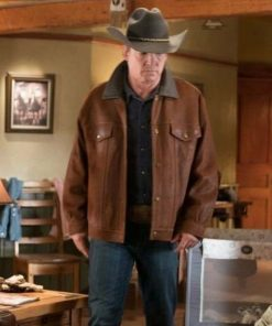 Heartland Tim Fleming Brown Leather Jacket
