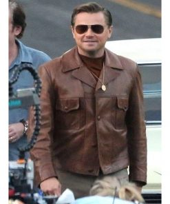 Leonardo DiCaprio Leather Jacket