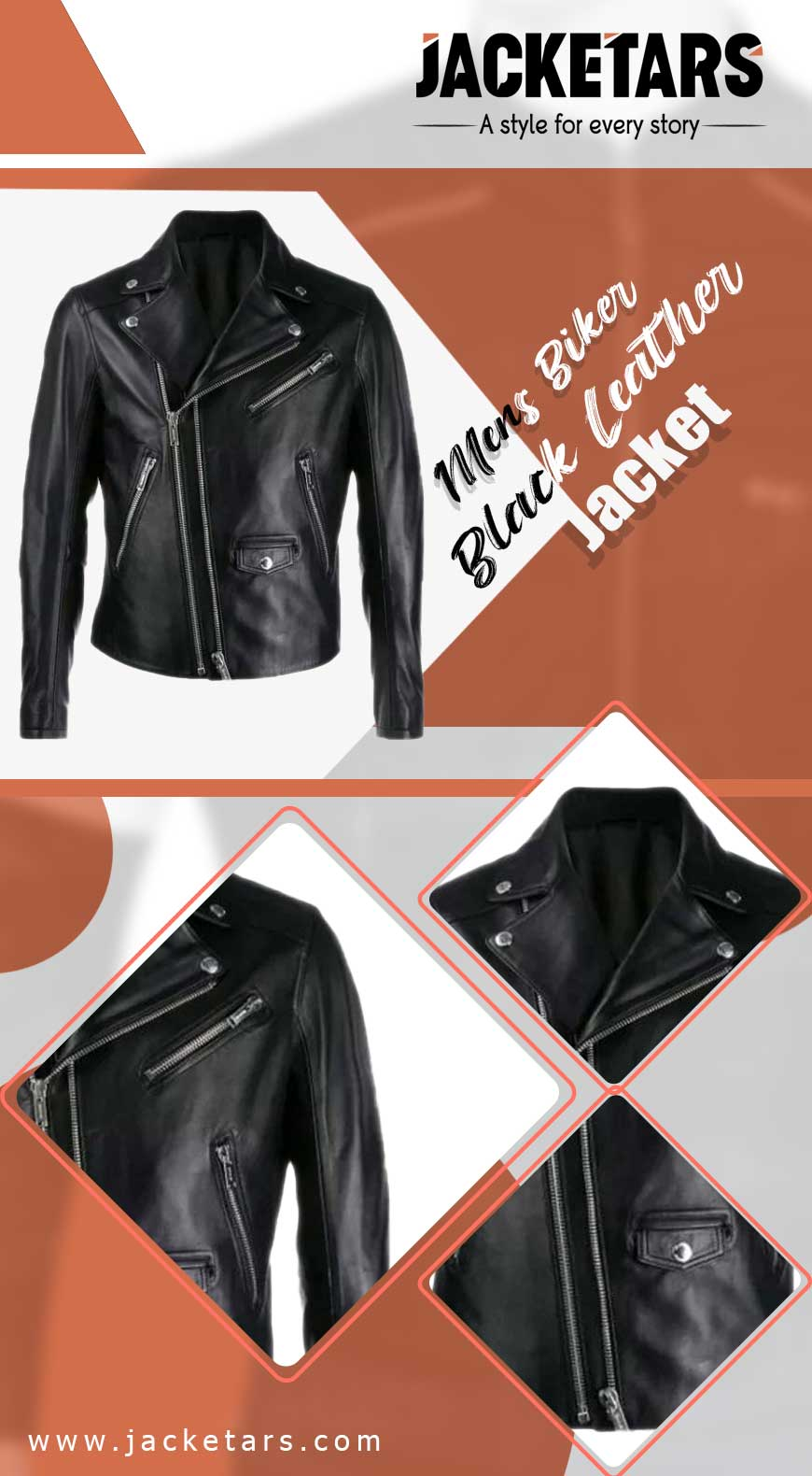 cafe racer leather jacket info