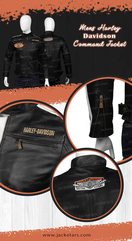 Mens Harley Davidson Command Jacket info