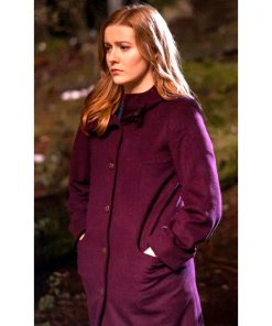 Nancy Drew Kennedy McMann Trench Coat