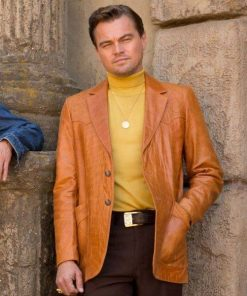 Once Upon A Time in Hollywood Leonardo DiCaprio Coat