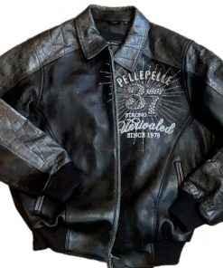 Pelle Pelle Black Leather Jacket