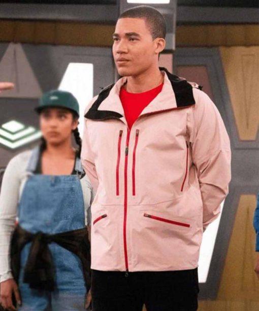 Power Rangers Dino Fury Zayto Jacket