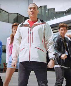 Power Rangers Dino Fury Zayto White Jacket