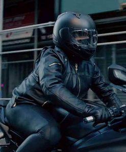 Queen Latifah Black Leather Jacket
