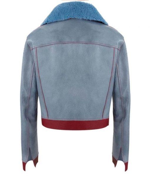 Sara Yang Love Life Shearling Leather Jacket