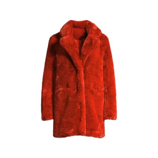 The Equalizer Melody Fur Jacket