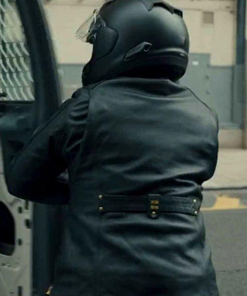 The Equalizer Queen Latifah Black Leather Jacket