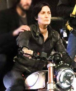 The Matrix 4 Trinity Leather Jacket