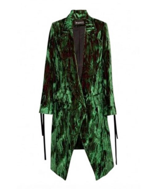 A Discovery of Witches Satu Green Velvet Coat